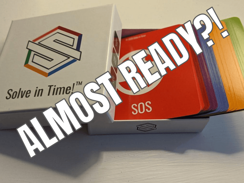 Solve in Time! cards almost ready